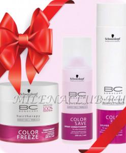 Набор Schwarzkopf Bonacure Защита цвета для окрашенных волос