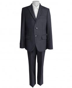 Школьный костюм-тройка UNIK KIDS, темно-серый (170-182)