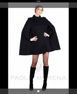 Пальто паола морена, итальянское качество