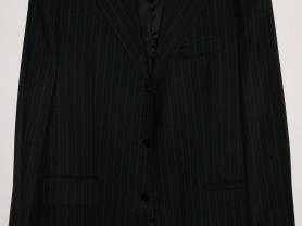 Костюм мужской черный LEGENDA CLASS 48-50 + ремень