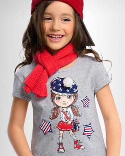 футболка для девочек ТМ Пеликан