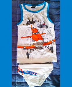 Комплект Майка и трусы Самолетики Disney