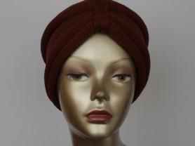 """Вязаная повязка на голову  """"Шарм и элегантность"""""""