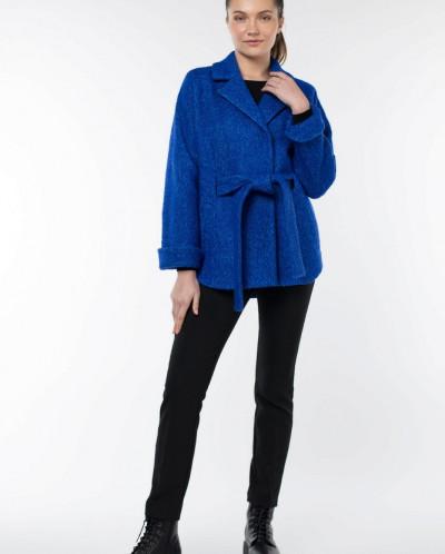 01-8586 Пальто женское демисезонное(пояс)