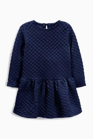 Платье текстурное