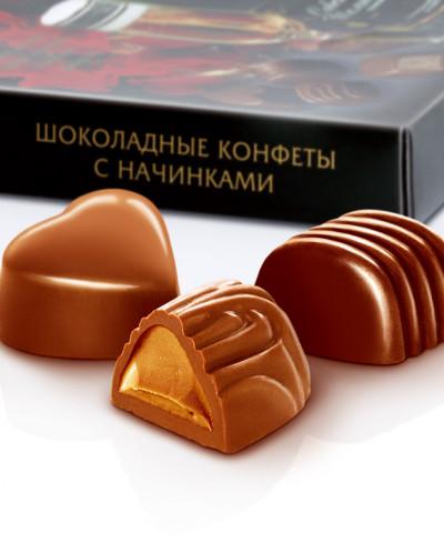 Конфеты шоколадные Ассорти  120г