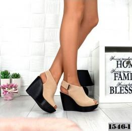 Женская стильная обувь из натуральной кожи.