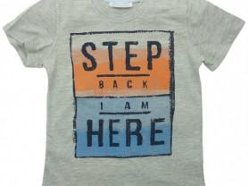 Новая футболка с коротким рукавом Watch Me, 116 см