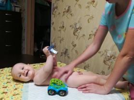 Детский массаж.