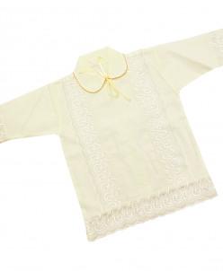 Крестильная рубашка 6111 р74-80