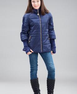 Куртка для девочек, холлофайбер
