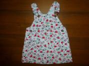 платье-полукомбинезон вельвет OshKosh, 12-18мес.