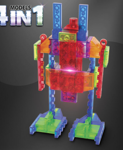 Набор 4 в 1. Роботы