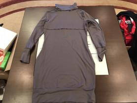 Платье с воротником водолазка