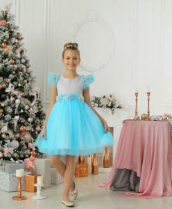 Платье «Зимняя принцесса»