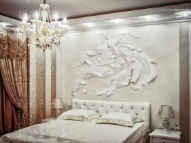 Роспись стен Москва, настенные барельефы, лепнина