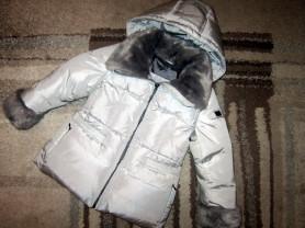 Удлиненная пуховая куртка baby A (Италия) 98-104