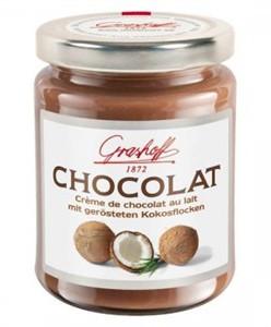Молочный шоколадный крем с кокосом
