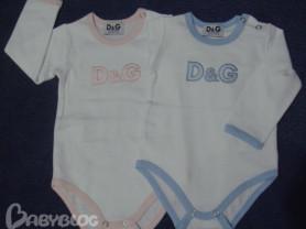 Бодики D&G для девочек.
