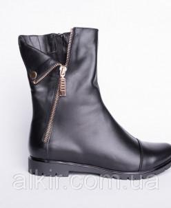 Ботинки из натуральной кожи №108