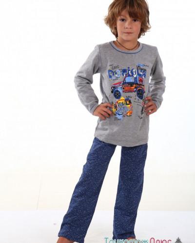 Пижама детская м-452 (футер)