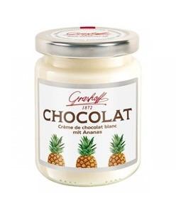 белый шоколадный крем с ананасами