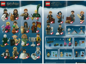 Lego minifigures Harry Potter Лего Гарри Поттер