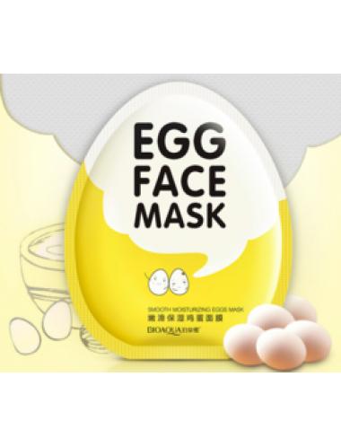 Яичная тканевая маска