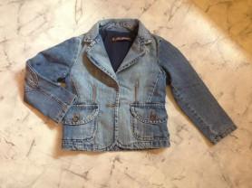 джинсовый жакет Zara на 5- 6 лет