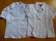 Школьные блузки 122-128.