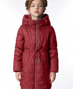 """Пальто """"Клер"""" темно-красный"""