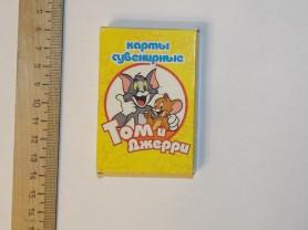 карты сувенирные Том и Джерри