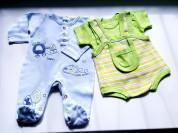 Одежда для малышей 0-2 мес и пеленки