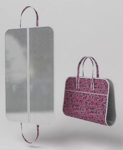 Чехол-сумка для концертных и спортивных костюмов. (Зефирка)