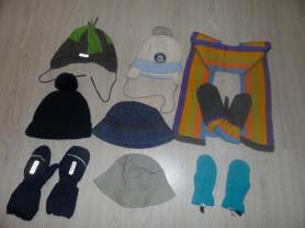 Новые и мало б/у шапки шарфы краги панамы на 3-6 л