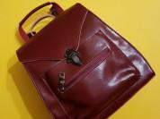 Новый кожаный женский рюкзак Ula