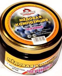 Мёд с экстрактом черники