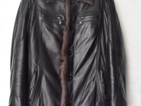 Мужская куртка кожаная