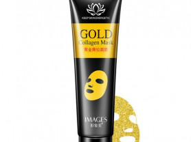 Маска плёнка Images Gold Collagen Mask с золотом