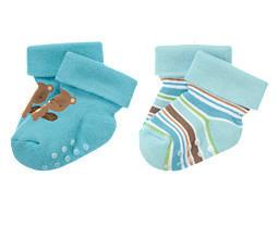 Новые махровые носки (2 пары) Gymboree 6-12 мес