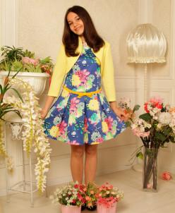 Комплект Платье с болеро Алексия