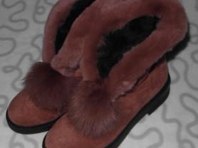 Новые зимние ботинки, 39 размер