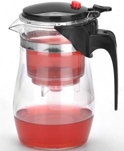 4023 Завар/чайник(0,75л) стекл.MB дав/клап(х24)