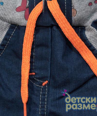Стильные джинсы для девочек ( В наличии!) р.74.80 маломер