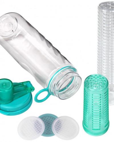 Infuser Water Bottle Sport Flip-top BPA-Free Tritan 25 Oz