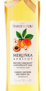 Масло для душа с абрикосовым маслом