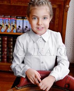 Оксана  блузка, белая