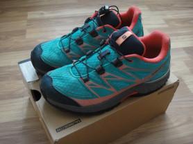 кроссовки  Salomon и Nike 35 размер(2 пары )