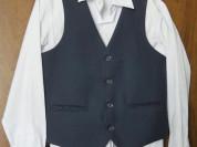 Школьный ком-т рубашка,жилет,брюки.