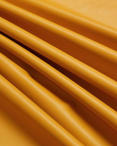 Экокожа, цвет горчичный
